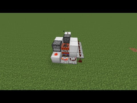 Minecraft Tutorial - TNT Cannon | Super Distance (Compact)