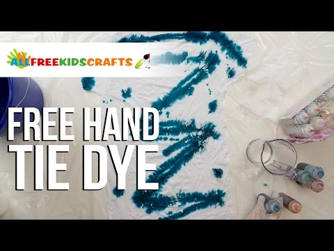 Free Hand Tie Dye