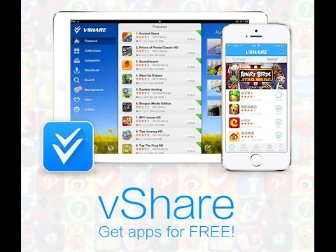 Download vShare IOS 8.3 and IOS 8.4 (WORKING On IOS 9 See Description) !