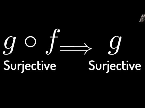 Proof that if g o f is Surjective(Onto) then g is Surjective(Onto)