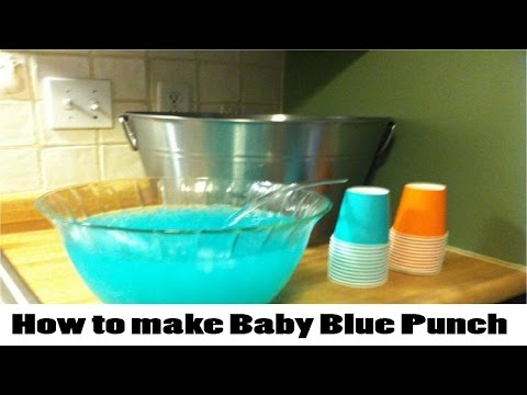 How to make Baby Blue Punch updated 2017