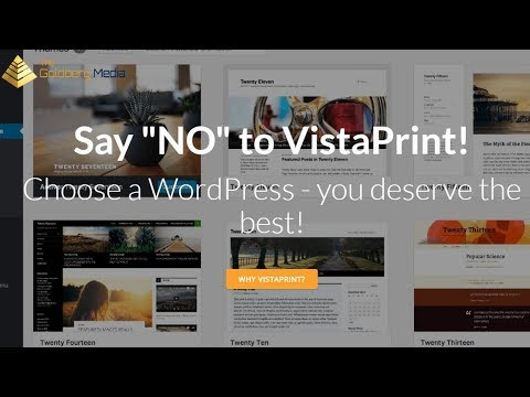 Vistaprint Website Builder - Never Again