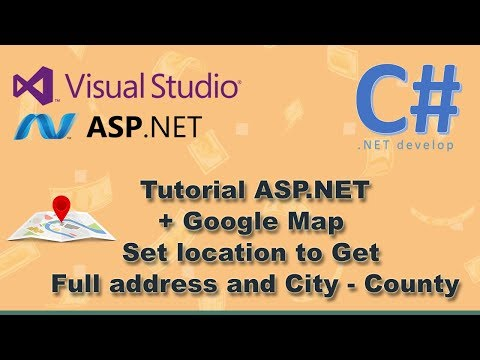 ASP.NET C# and Google Map - Full address