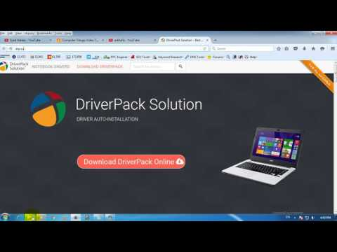 How To Download And Install Drivers For All Laptop Hindi/Urdu