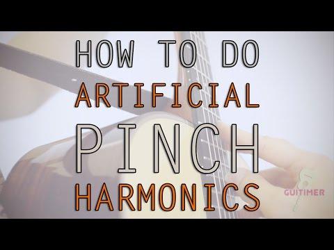 How To Do Artificial Pinch Harmonics