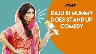 iDIVA - Raju Ki Mummy Does Stand-Up Comedy | Mazedar Mrs. Raju Ki Mummy