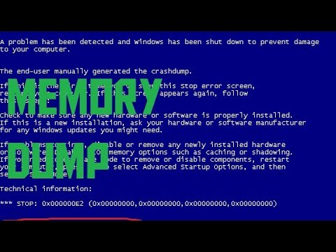 What is a memory dump? (AKIO TV)