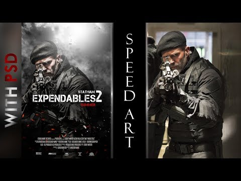 Hollwood Film Poster Making On Photoshop | Speed Art |  Real Fx Edits