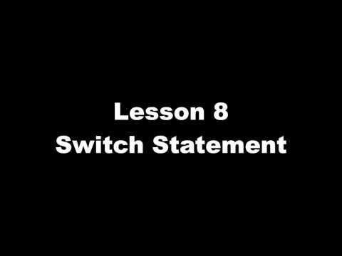 JavaSwitchStatementVideo