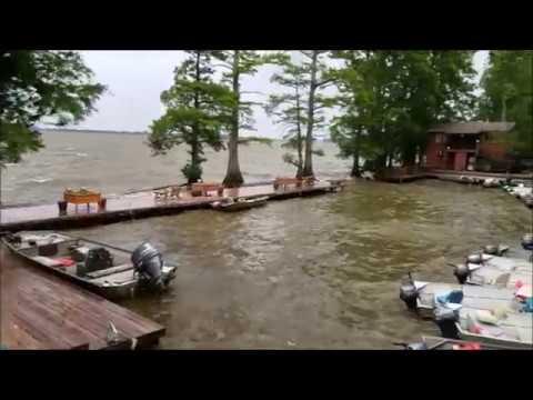 Reelfoot Lake Storm at Blue Bank - 5-27-17