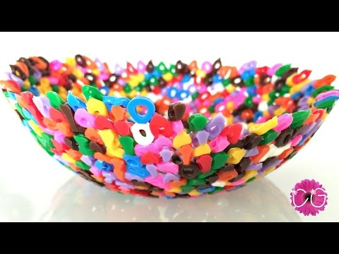 PERLER BEAD BOWLS - Super Easy & So Pretty!