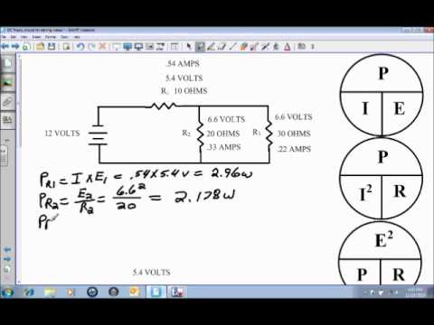 Power in a DC Combination Circuit.wmv
