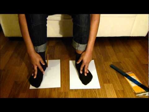 How To Find Your Ice Hockey Skate Size Width and Length Tutorial From Home Skate Sizing