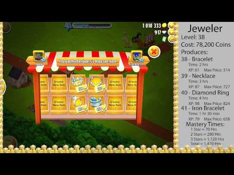Hay Day - Jeweler (Everything You Need To Know)