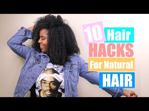 10 Natural Hair Hacks You NEED To Know | Melissa Denise