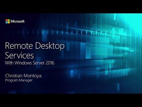 Multiple Remote Desktop Connections on Windows Server 2016