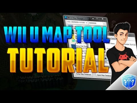 Minecraft Wii U How to Extract and Install Maps | Wii U Map Manager Tutorial