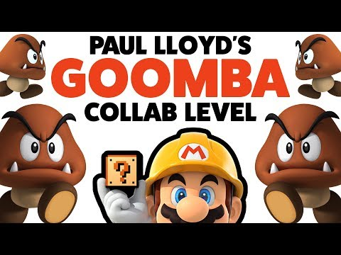 Super Mario Maker - GOOMBA COLLAB LEVEL! - Enemy Creation Challenge [#33]
