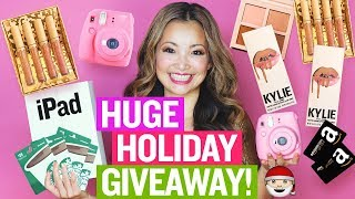 HUGE Holiday GIVEAWAY 2017 (iPad, Kylie Cosmetics, Instax Mini, Gift Cards) OPEN INTERNATIONALLY