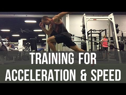 Acceleration Training - How to sprint faster with acceleration & speed training