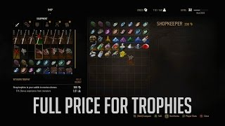 Witcher 3: Where To Sell Trophies For Their Full Price