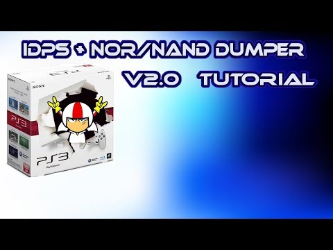 PS3 Detailed Tutorial - IDPS, Nor / Nand Dumper v2.0 (how to use)