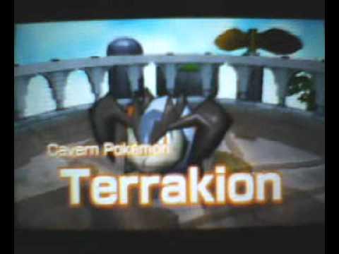 Pokemon Rumble Blast - Terrakion Boss