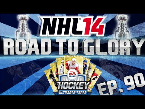 NHL 14 HUT | Road To Glory 90 - Young Guns Team, New D, and more! | TacTixHD