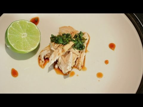 Chinese Boiled Chicken w/ Ginger Soy Sauce & Chicken Consomme (Gluten Free Recipe!)