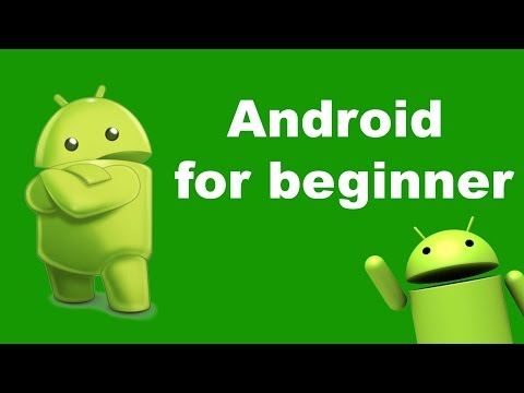 How to learn android programming for beginners - android tutorials