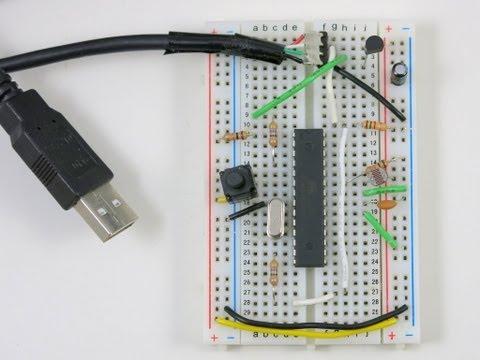 HID-class USB Serial Communication for AVRs using V-USB