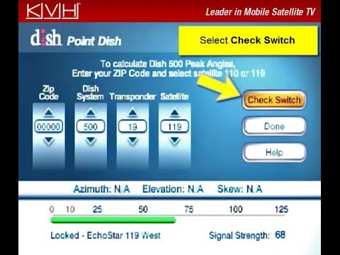 How to Run a Check Switch Test on a DISH Network or Bell TV Receiver