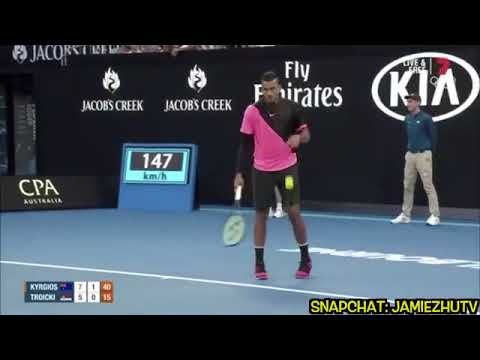 Xxx Mp4 Video 39 Comedian 39 Brings Nick Kyrgios Match To A Halt With 39 Sex Noises 39 3gp Sex