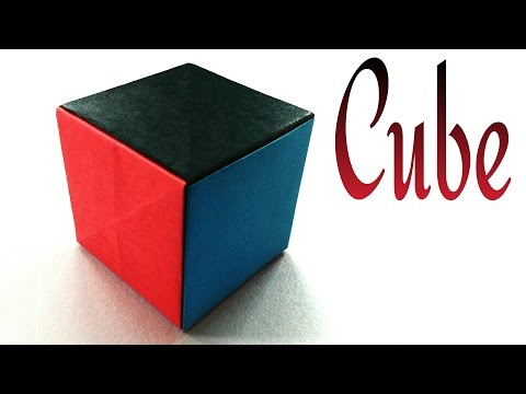 Simple Paper Cube - Very easy, anyone can do - DIY Tutorial by Paper Folds ❤️