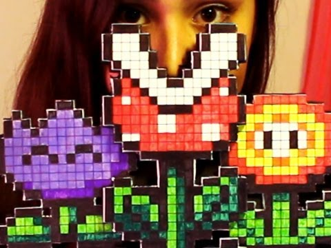 8-bit Wall Flower - DIY GG