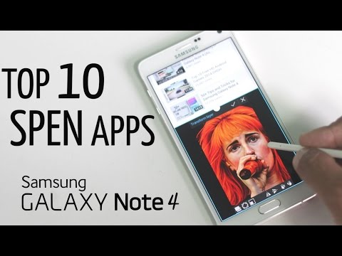 Top 10 Best S pen Apps for Galaxy Note 4