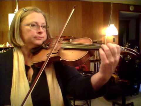 Etude, Suzuki Violin Bk 1, Louder Play-through clip incl 16th-note var.