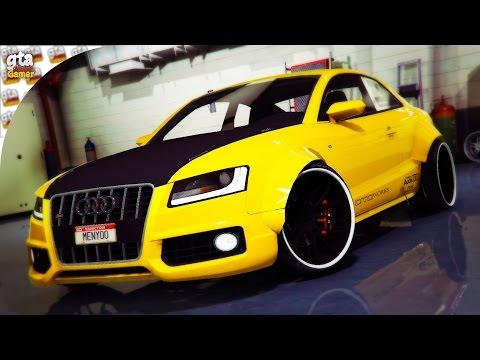 GTA 5 - REAL CARS SHOW (Ferrari Enzo/Audi S5/Audi R8 V10