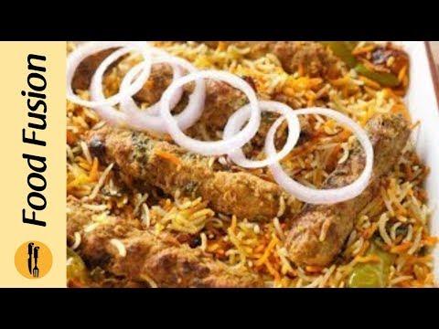 Kabab Biryani Recipe By Food Fusion
