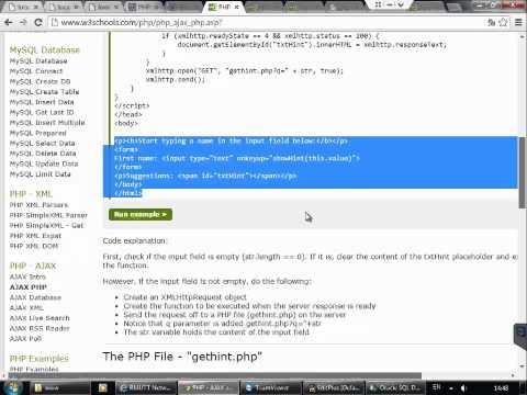 php oracle 02 ajax select