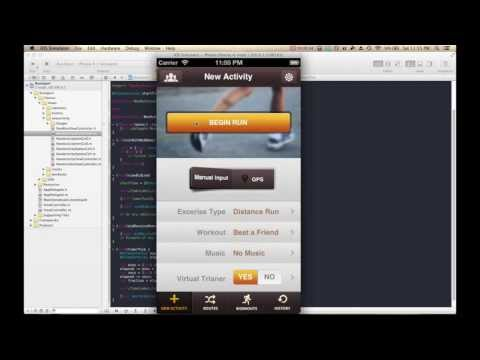 How To Make iPhone/iPad Apps: Build An iOS App In 10 Minutes (Part 2) [App Templates]
