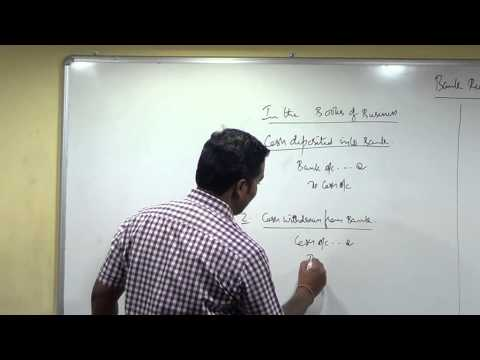 Bank Reconciliation Statement Lecture 1