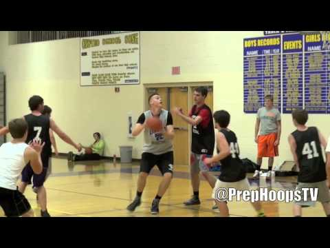6-10 Austin Davis 2016 Onsted High School highlights-3.9GPA