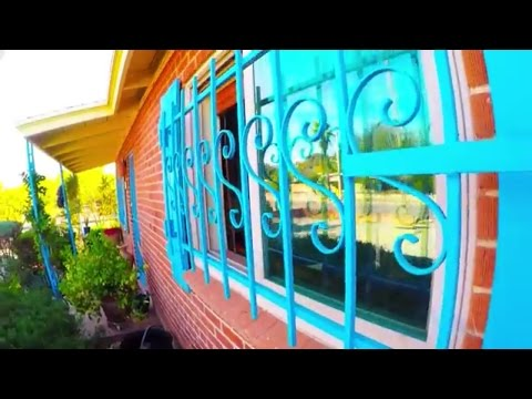 How to clean windows with security bars
