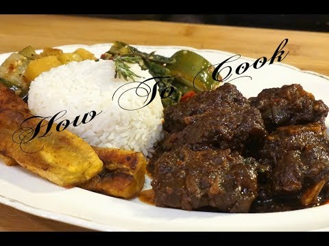 How To Make The Best Brown Stew Oxtail Recipe | How to cook