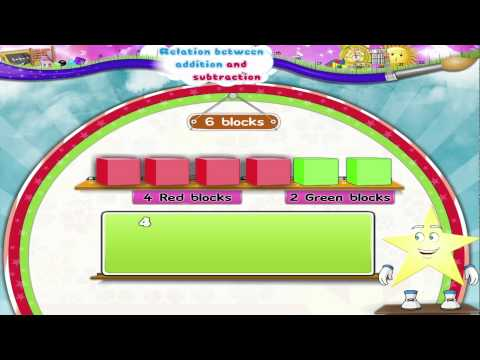 Learn Grade 1 - Maths - Relation Between Addition and Subtraction