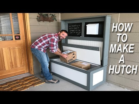How to Make a Hutch