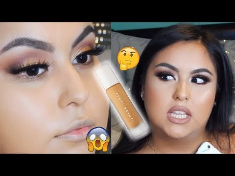 FENTY BEAUTY BY RIHANNA PRO FILT'R FOUNDATION SHADE 300 (DRY SKIN) FIRST IMPRESSIONS | REVIEW