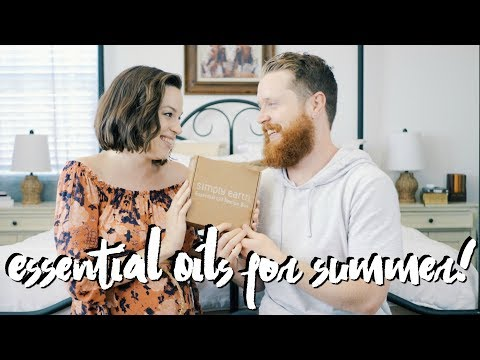Simply Earth Haul! (Essential Oil Subscription Box)