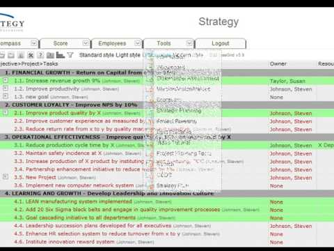 Project Management: Adding goals and project plans to ActionStrategy